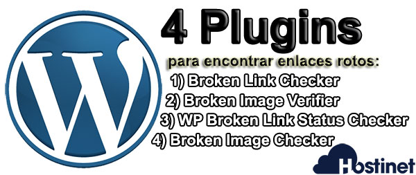 4 Plugins enlaces rotos WordPress