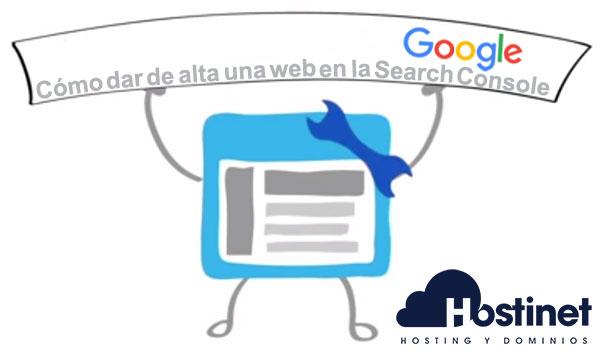 C mo dar de alta una web en la google search console for Como dar de alta el gas