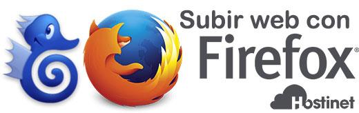 FireFTP - Subir Web con Firefox