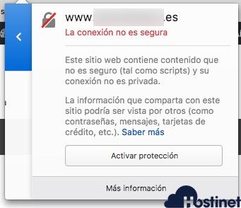 contenido no seguro 2 SSL