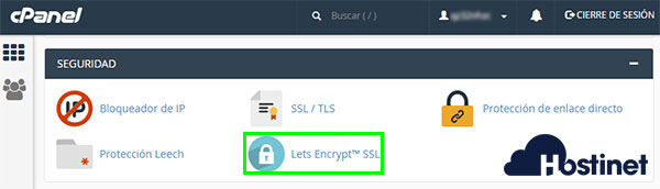 cPanel Let's Encrypt SSL