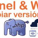cPanel & WHM Cambiar versión php