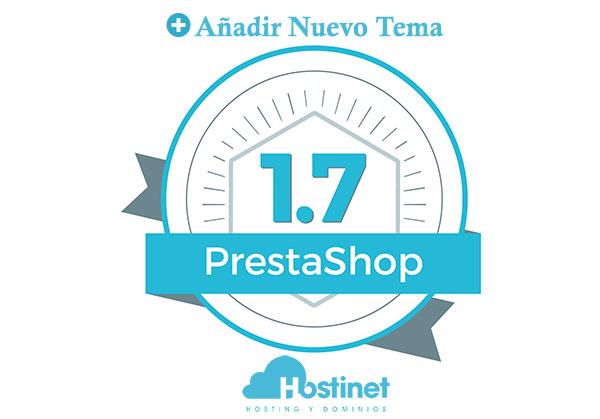 PrestaShop 1.7 - Añadir Nuevo Tema