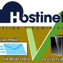 Reenviar email sin dejar copia en el servidor