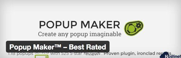 Popup Make Best Rated - Plugin WordPress