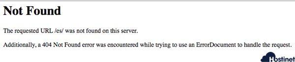 error 404 al migrar prestashop
