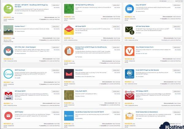 plugins SMTP para WordPress