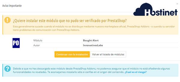 bought alert aviso