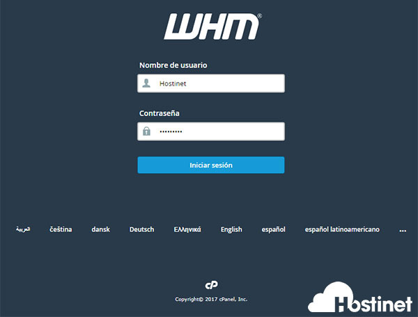 WHM Distribuidores Hostinet