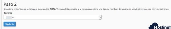correos anadir email cpanel paso 2 - Hostinet