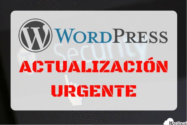 WordPress Actualización Urgente Versión 4.8.3