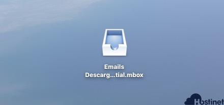 archivo copia seguridad buzón de Mail en macOS