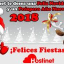 Hostinet - ¡Feliz Navidad y Próspero Año Nuevo 2018!