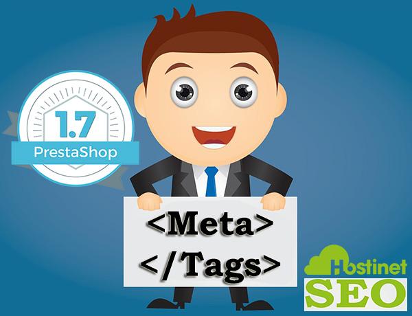 Meta Tags PrestaShop 1.7