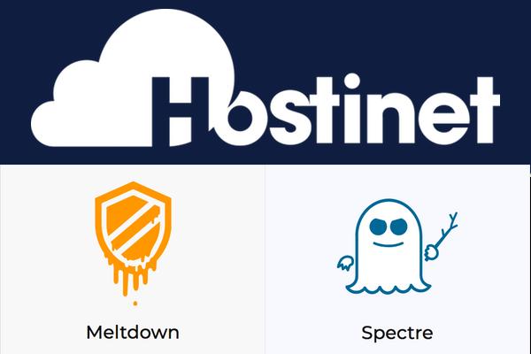 Soluciones para Meltdown y Spectre en los Servidores de Hostinet