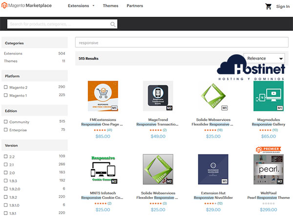 Magento Marketplace Responsive