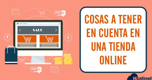 Cosas a Tener en Cuenta en una tienda online