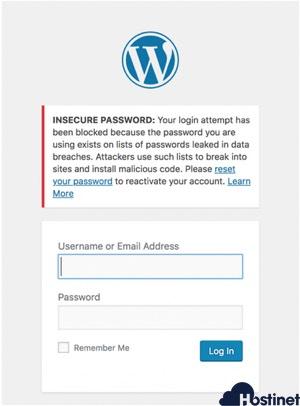 contraseña administrador WordPress bloqueada wordfence