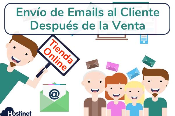 Envío de Emails al Cliente Después de la Venta