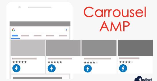carrousel AMP resultados busquedas Google