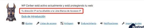 WP Cerber Security & Antispam plugin WordPress