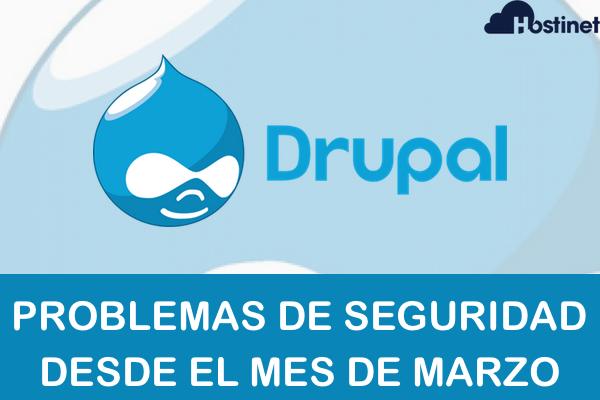 Drupal - Problemas de Seguridad desde Marzo