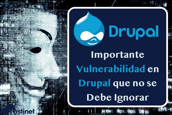 Importante Vulnerabilidad en Drupal que no se Debe Ignorar