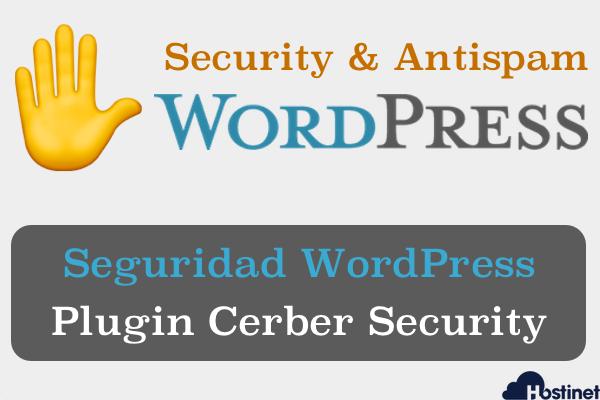 Seguridad WordPress - Plugin Cerber Security & Antispam