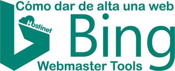 Cómo dar de alta una web en Bing Webmaster Tools