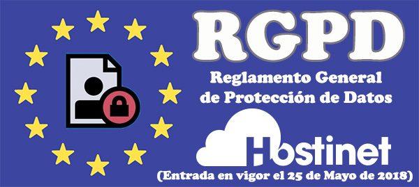 RGPD Hostinet