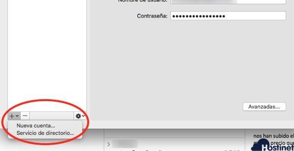 crear nueva cuenta Microsoft Outlook 365 macos