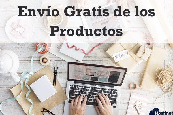 Envío Gratis de los Productos