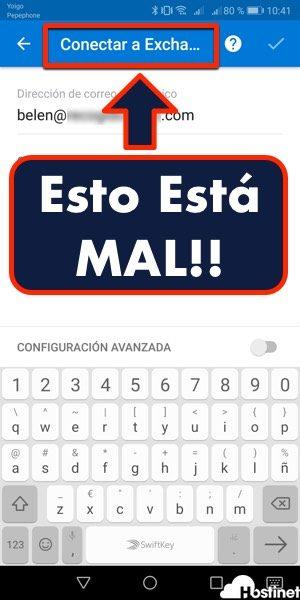 exchange outlook android 2018 - Esto está MAL!!