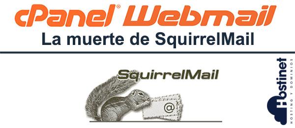 La Muerte de SquirrelMail