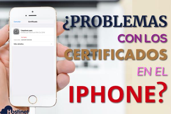 94985c01547 Cómo Solucionar los Problemas de los Certificado para Mail en iPhone (iOS)