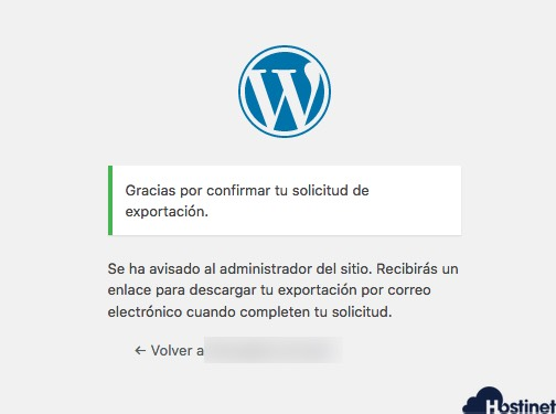 solicitud datos recibida RGPD WordPress