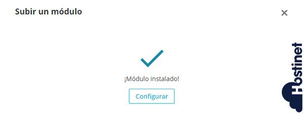 PrestaShop 1.7 Subir Modulo Instalado