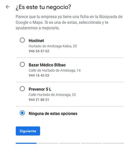 Google My Business esta es tu tienda