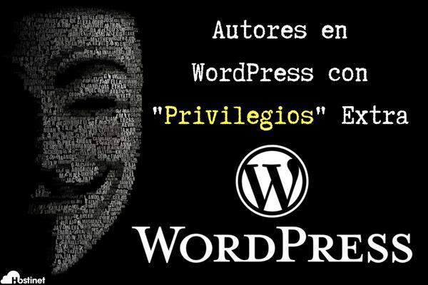 Autores y editores en WordPress con privilegios que no deberían la Base de la Vulnerabilidad