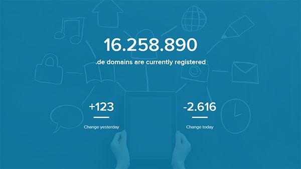 dominios .de registros