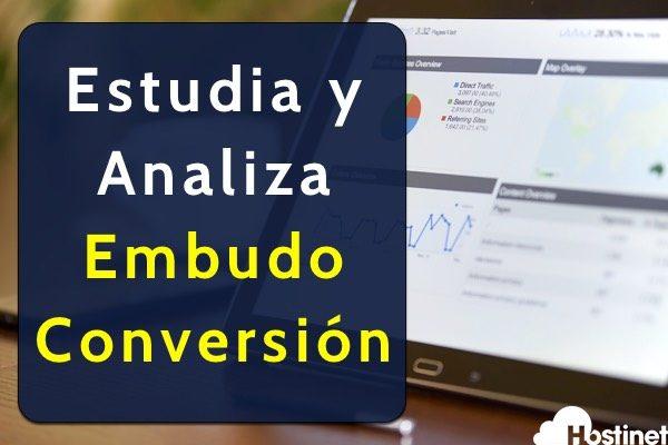 Estudia y Analiza el Embudo de Conversión
