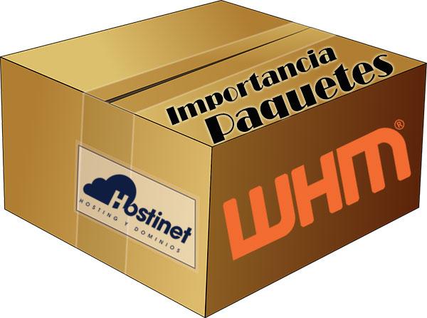 La Importancia de los Paquetes en WHM