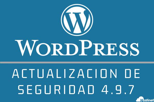 """WordPress 4.9.7 Actualización de Seguridad - El Perfil """"Autor"""" podía Hacerse con el Control"""