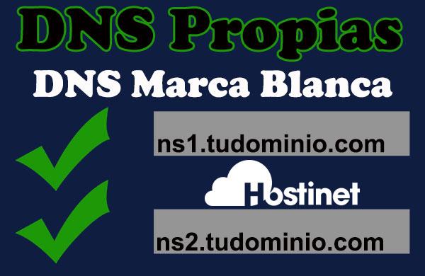 DNS Propias DNS Marca Blanca