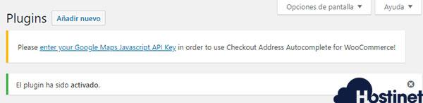 Checkout Address Autocomplete for WooCommerce API Key Google Maps