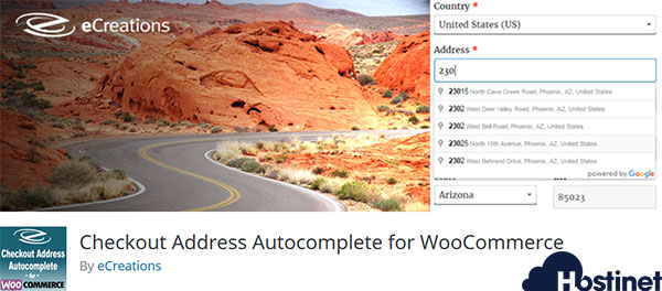 Checkout Address Autocomplete for WooCommerce