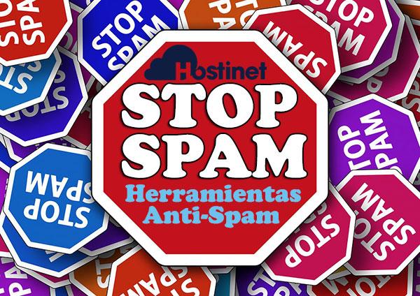 STOP SPAM Herramientas Anti-Spam