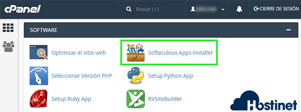cpanel softaculous app installer