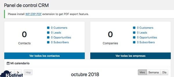 crm wp erp WordPress