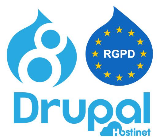 Drupal 8 RGPD